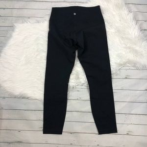 lululemon athletica Pants - NEW Lululemon Solid black wunderunder tight crop